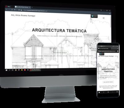 diseño para arquitecta Alvarez Iturregui