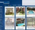 diseño de sitio para inmobiliaria
