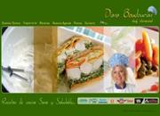 diseño para web de recetas