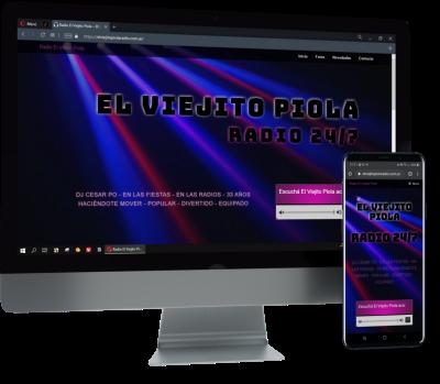 diseño para radio elviejitopiola